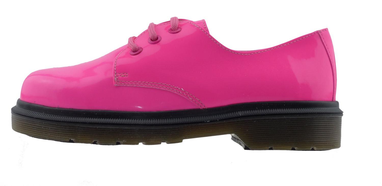 9020 2 16 Plateau Halbschuhe Lack pink