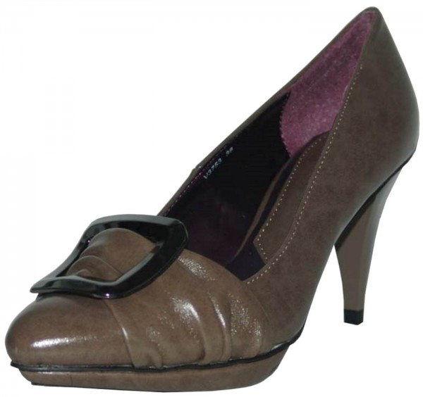 1to3 Pumps Plateau high taupe